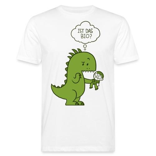 Bio-Dinosaurier - Männer Bio-T-Shirt
