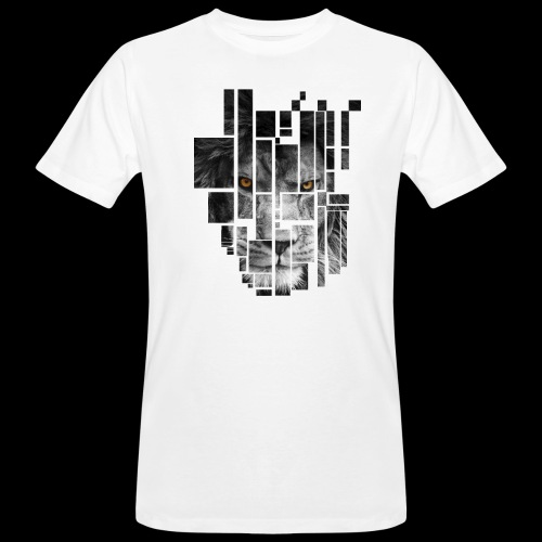 Pixel Lion Tattoo Inspire - Men's Organic T-Shirt