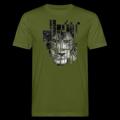 Pixel Lion Tattoo Inspire - Men's Organic T-Shirt