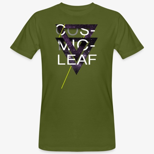 Cosmicleaf Triangles - Men's Organic T-Shirt