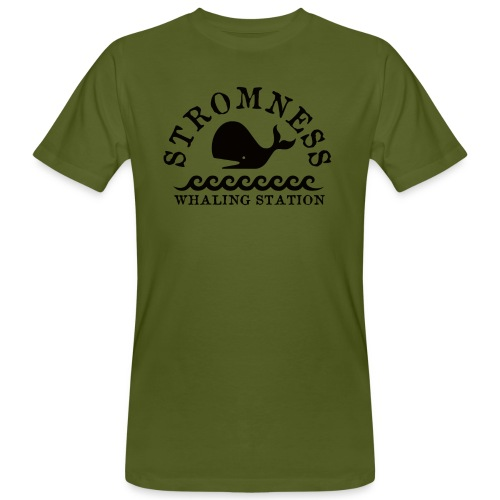 Sromness Whaling Station - Men's Organic T-Shirt