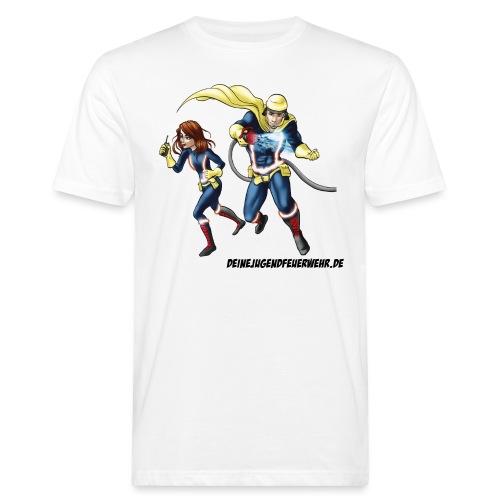 1+1=2Eine gute Connection - Männer Bio-T-Shirt