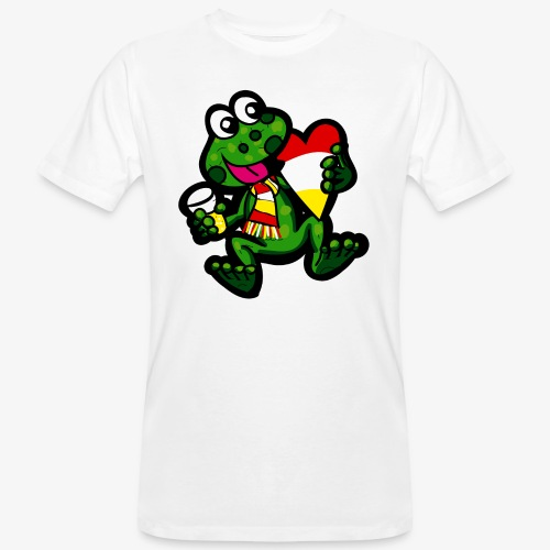 Oeteldonk Kikker - Mannen Bio-T-shirt