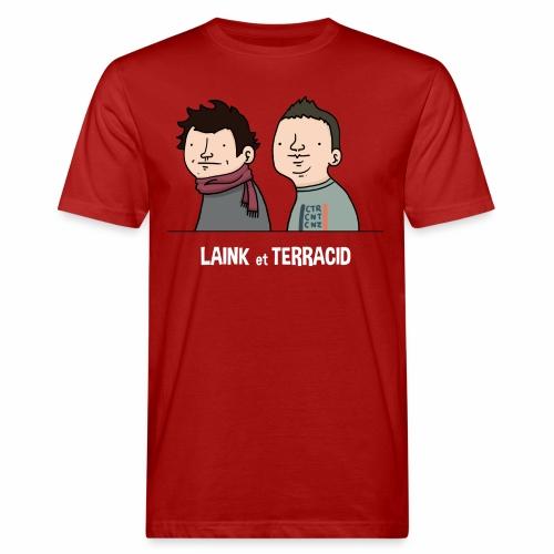 Laink et Terracid old - T-shirt bio Homme