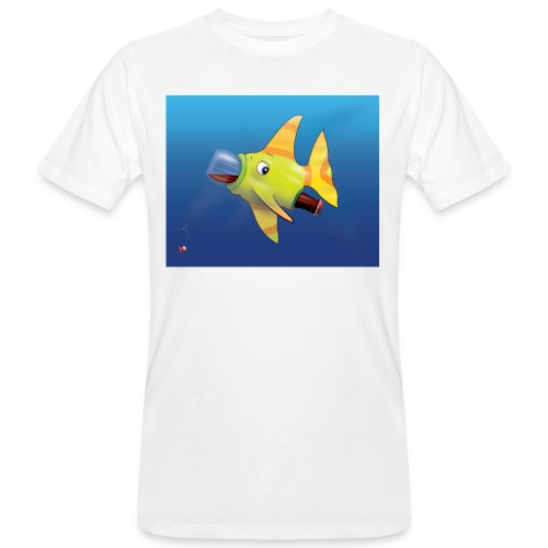 Greedy Fish - T-shirt bio Homme