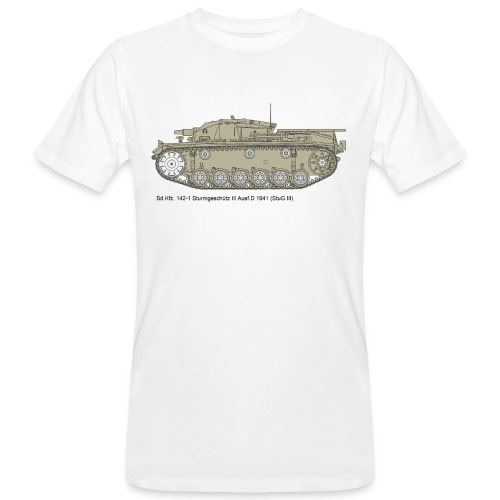 Stug III Ausf D. - Männer Bio-T-Shirt