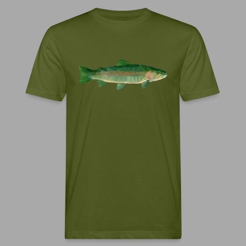 Mystical Trout - Miesten luonnonmukainen t-paita