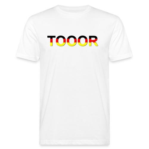 TOOOR-Schatten-transparen - Männer Bio-T-Shirt