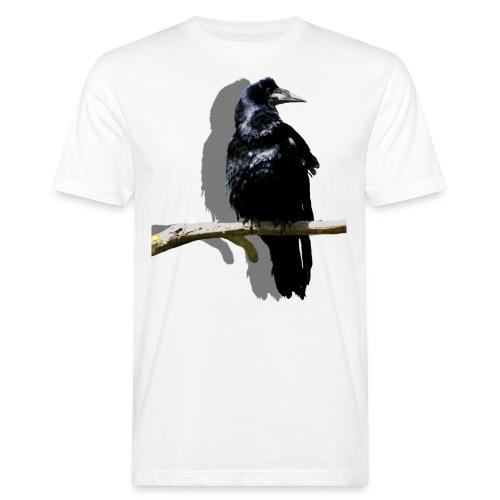 Rabenschwarz - Männer Bio-T-Shirt