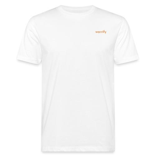 warrify - Männer Bio-T-Shirt