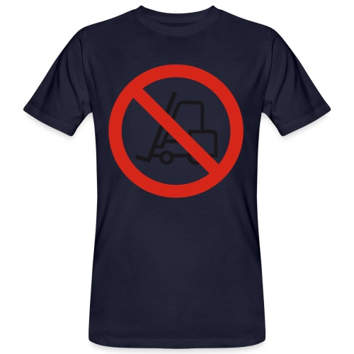 Stapler Crew Stagehand - Männer Bio-T-Shirt
