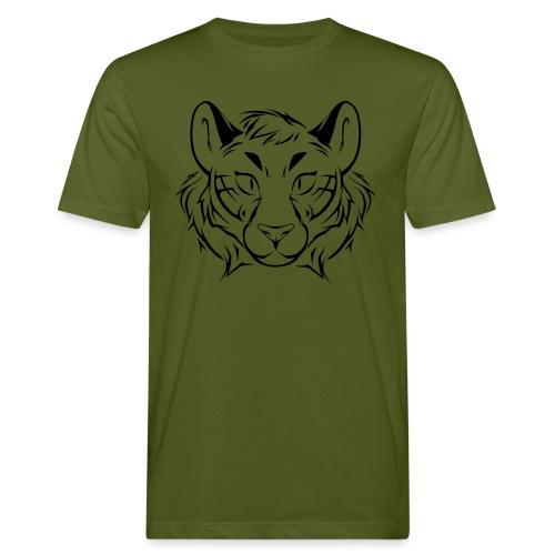 Tigris Picture Logo Black - Men's Organic T-Shirt