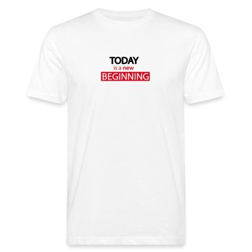 TODAY Plan de travail 1 - T-shirt bio Homme
