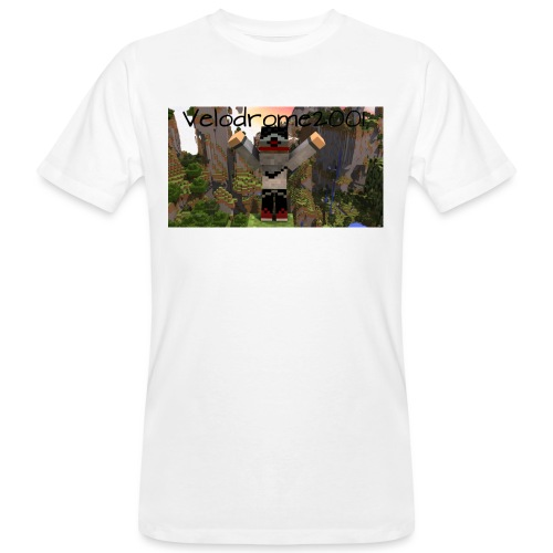 Velodrome2001 Tröja! - Ekologisk T-shirt herr