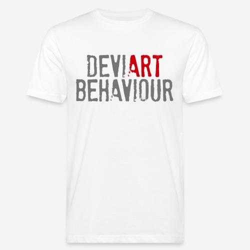 Verhalten von Kunstkünstlern - Männer Bio-T-Shirt