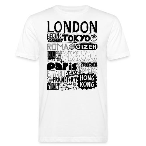 Villes du monde - T-shirt bio Homme