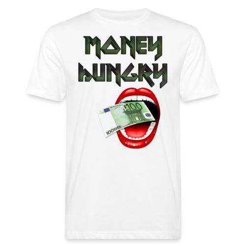 MONEY HUNGRY - Mannen Bio-T-shirt