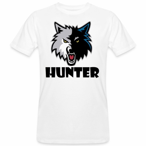 Hunter T-schirt - Mannen Bio-T-shirt
