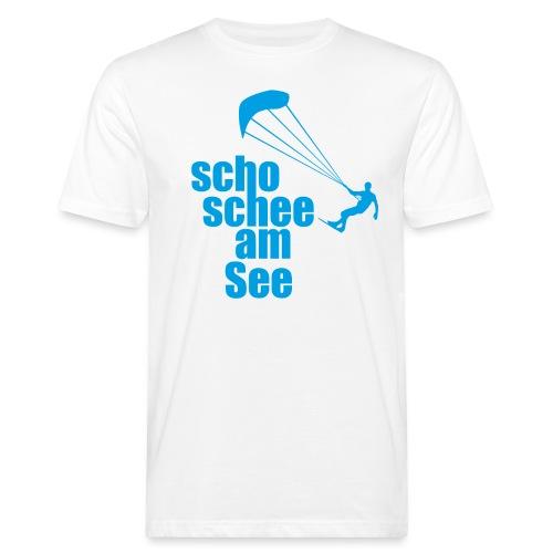 scho schee am See Surfer 01 kite surfer - Männer Bio-T-Shirt