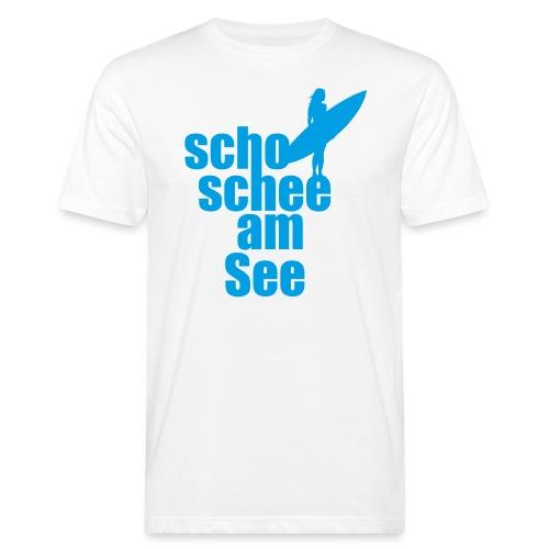 scho schee am See Surferin 02 - Männer Bio-T-Shirt