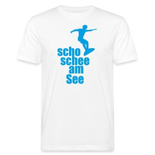 scho schee am See Surfer 02 - Männer Bio-T-Shirt