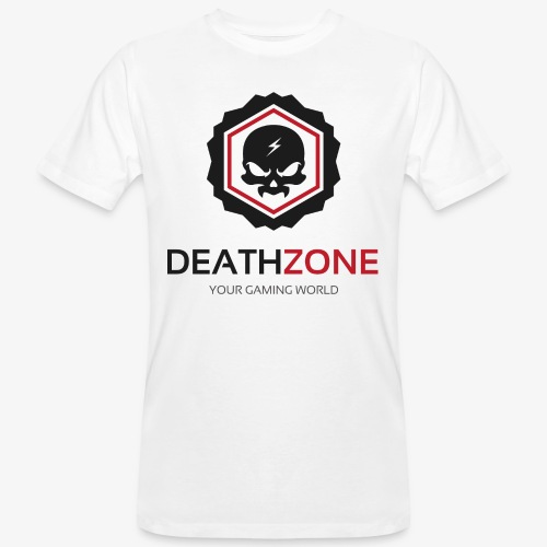 DeathZone Logo Avatar - Ekologiczna koszulka męska