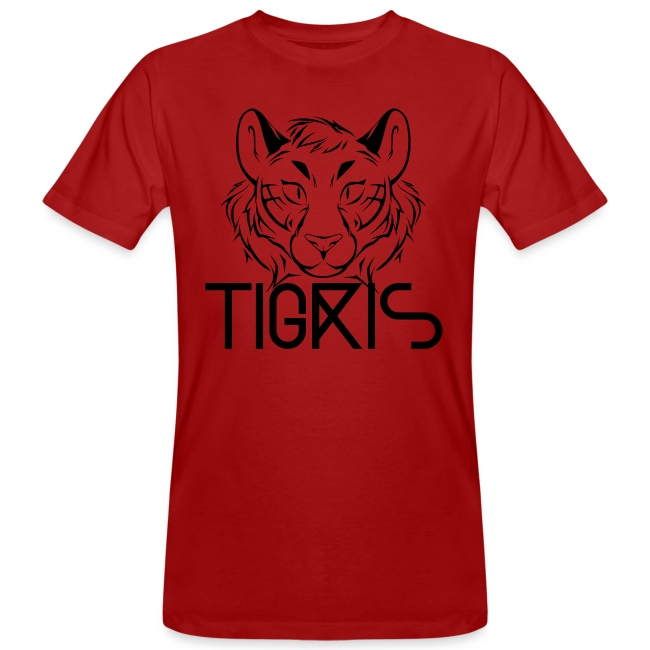 Tigris Logo Picture Text Black