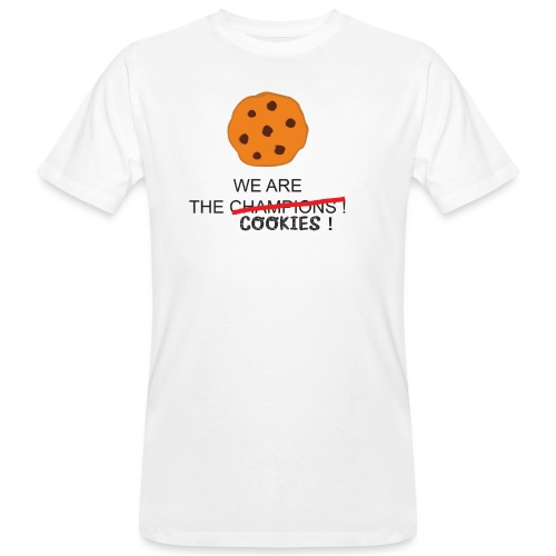 WE ARE THE COOKIES - T-shirt ecologica da uomo