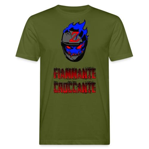 FlamesLogo - T-shirt ecologica da uomo
