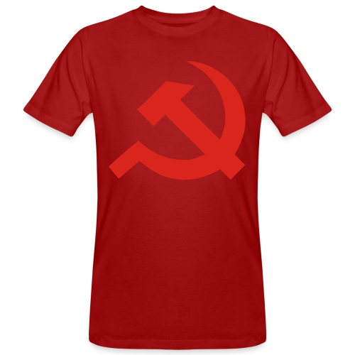 red Hammer and Sickle - T-shirt bio Homme