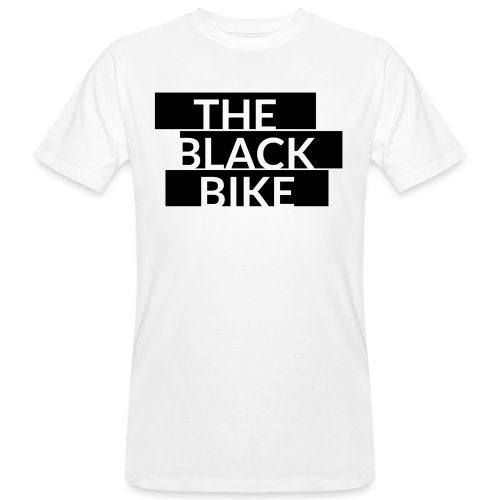 THE BLACK BIKE - T-shirt bio Homme