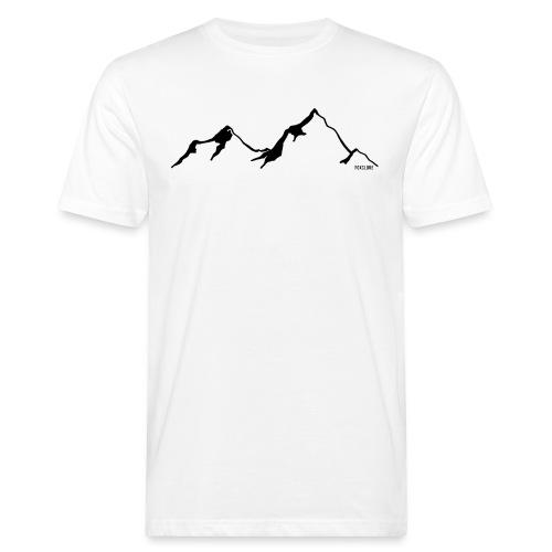 Mountain - Mannen Bio-T-shirt