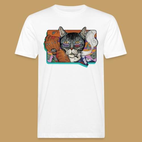 Crime Cat - Ekologiczna koszulka męska
