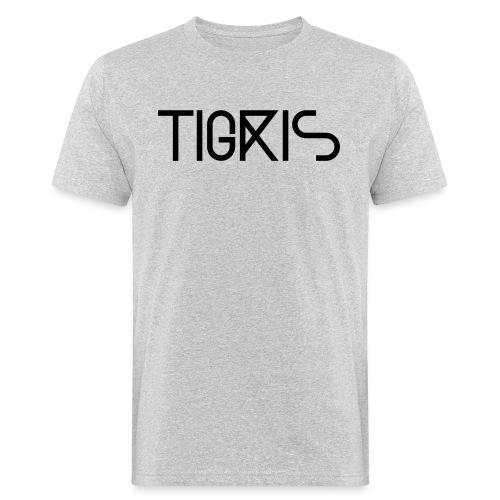 Tigris Vector Text Black - Men's Organic T-Shirt