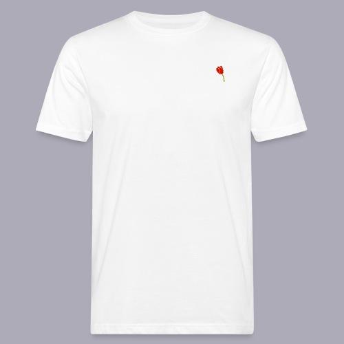 Tulip Logo Design - Men's Organic T-Shirt