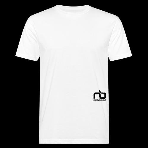 NB Records Logo White - Men's Organic T-Shirt