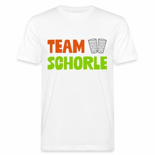 Team Schorle und Dubbe Schoppenglas - Männer Bio-T-Shirt
