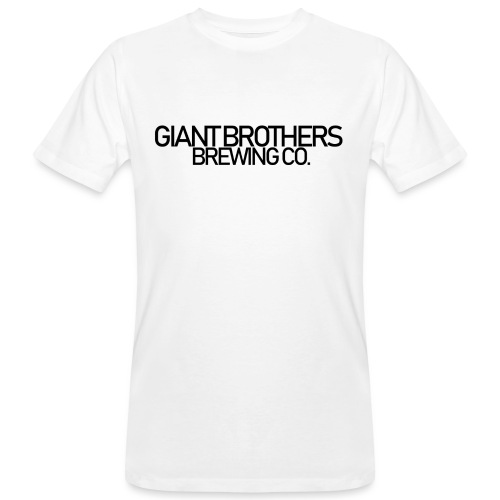 Giant Brothers Brewing co SVART - Ekologisk T-shirt herr