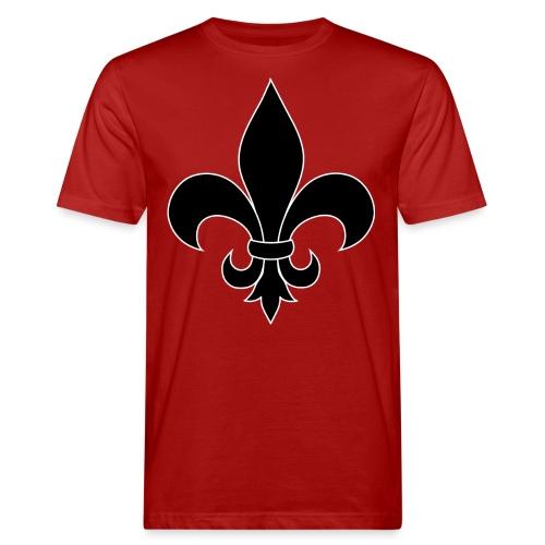 ranskan lilja - Miesten luonnonmukainen t-paita