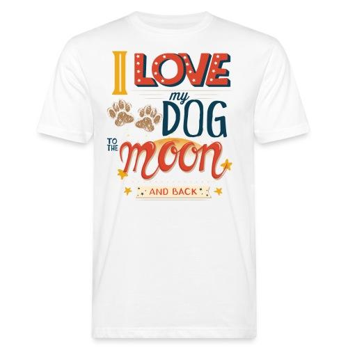 Moon Dog Light - Ekologisk T-shirt herr