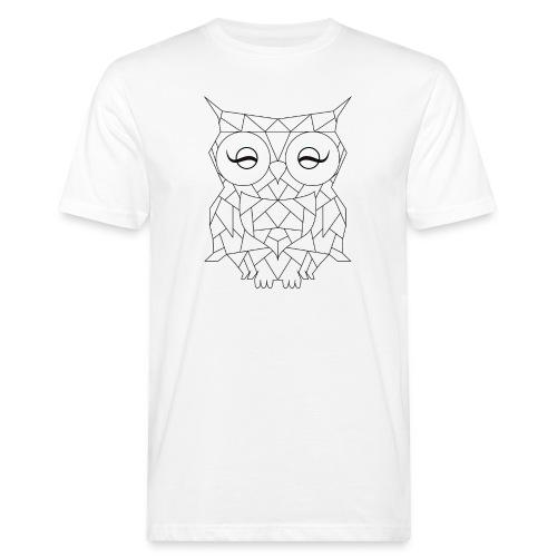 Geometric OWL - T-shirt bio Homme