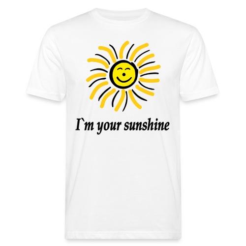 2i m youre sunshine Gelb Top - Männer Bio-T-Shirt