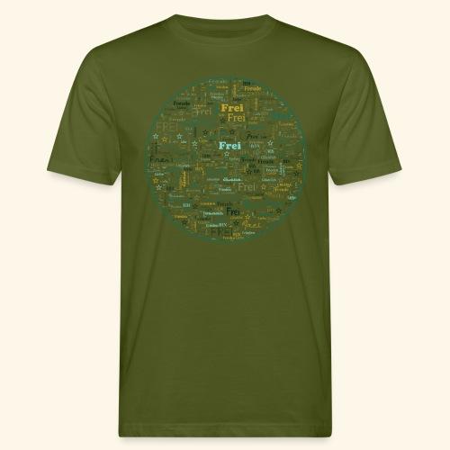 Ich bin - Männer Bio-T-Shirt