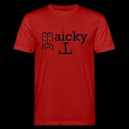 maicky Tv - Männer Bio-T-Shirt