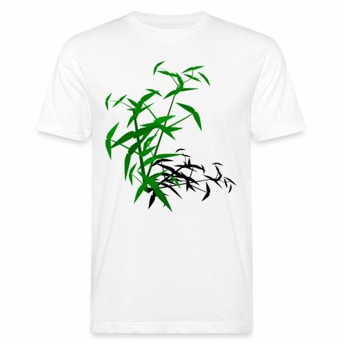 Bambou avec ombre - T-shirt bio Homme