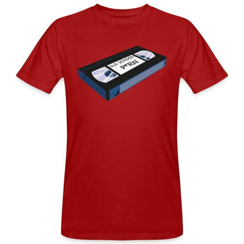 OLD SCHOOL P * RN vhs - T-shirt bio Homme