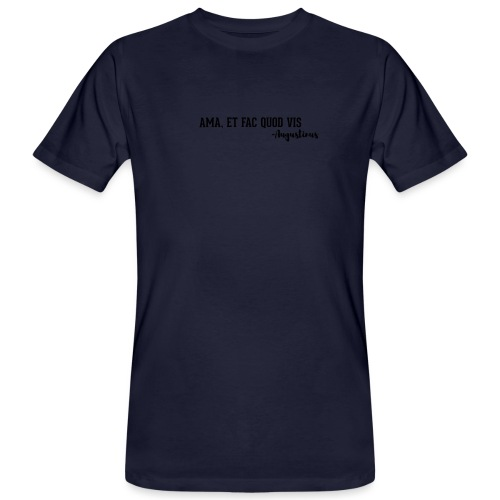 Agostino - T-shirt ecologica da uomo