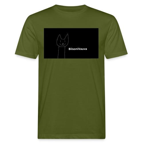 biisonivauva - Miesten luonnonmukainen t-paita