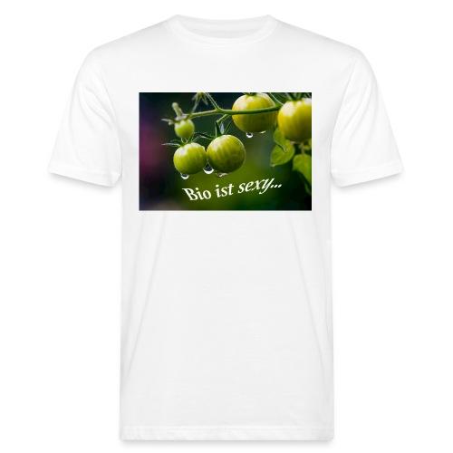 Bio ist sexy - Männer Bio-T-Shirt