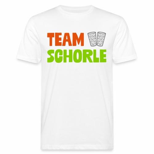Team Schorle und Dubbegläser - Männer Bio-T-Shirt